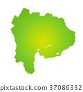 山梨縣地圖 37086332
