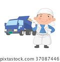 driver, motorist, truck 37087446