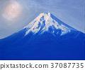 후지산, 유화, 세계유산 37087735