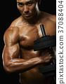 肌肉發達 肌肉 男人 37088404