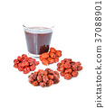 Chinese herbal tea, jujube honey tea 37088901