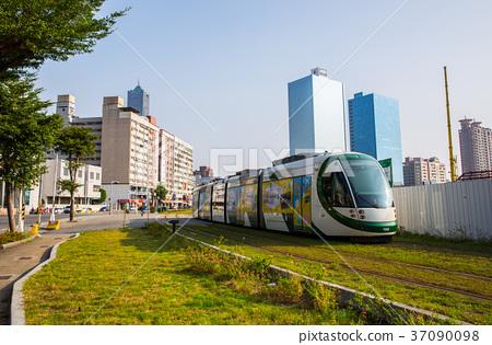 台灣高雄輕軌捷運Asia Taiwan Kaohsiung MRT 37090098