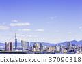 후쿠오카의 아름다운 거리 풍경 37090318