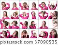 woman portrait emotion 37090535