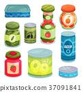 set, food, goods 37091841