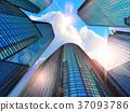 Modern business buildings 37093786