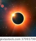 Solar eclipse 37093799