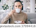 咖啡 女性 女 37094416