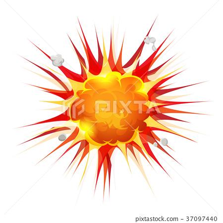 Comic Firebomb Explosion 37097440