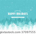Holiday Background With Textured Effect 37097555