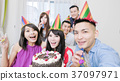 people with birthday party 37097971
