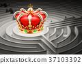 maze, crown, labyrinth 37103392