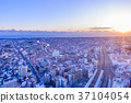 sunset, building, buildings 37104054