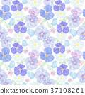 seamless floral pattern 37108261