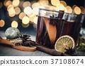 葡萄酒 红酒 圣诞节 37108674