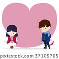 heterosexual, couple, lover 37109705