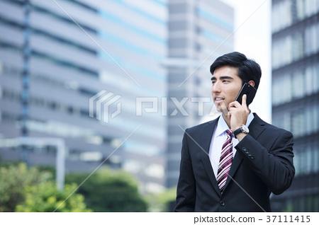 商务人士 商人 男性白领 37111415