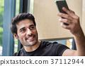 男性 自拍 微笑 37112944