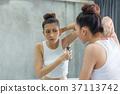 女人 女性 剃须 37113742