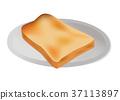 在板材服務的麵包 37113897