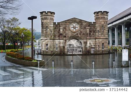 산업 유적 구 가고시마 교도소 정문 37114442