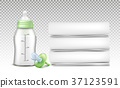 Vector set of baby care accessories 37123591