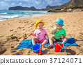 beach, brother, coast 37124071