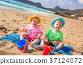 beach, brother, coast 37124072