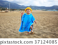 boy, beach, coast 37124085