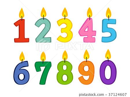 生日蜡烛 37124607