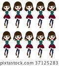 세 등신 여학생 유형 캐릭터 37125283