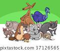 動物 卡通 插圖 37126565