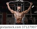 bodybuilder gym male 37127907