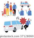 遇見事故例證集合的年長人 37128060