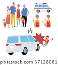 Children's illustrations set to meet the accident 37128061