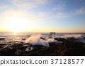 아침 해, 아침 햇빛, 오아라이마치 37128577