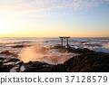 아침 해, 아침 햇빛, 오아라이마치 37128579