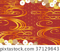 日本圖案背景材料(水平方向) 37129643
