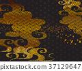 日本圖案背景材料(水平方向) 37129647