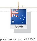 Photo of Australia flag 37133570