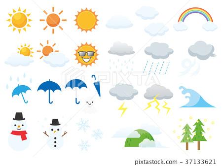 Weather icon 37133621