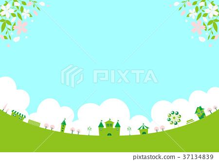 Sakura Green Theme Park 37134839