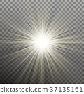 glare, sunshine, sunbeam 37135161