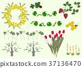 봄, 식물, 꽃 37136470