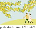 봄, 인물, 사람 37137421