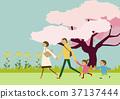 산책, 하이킹, 가족 37137444