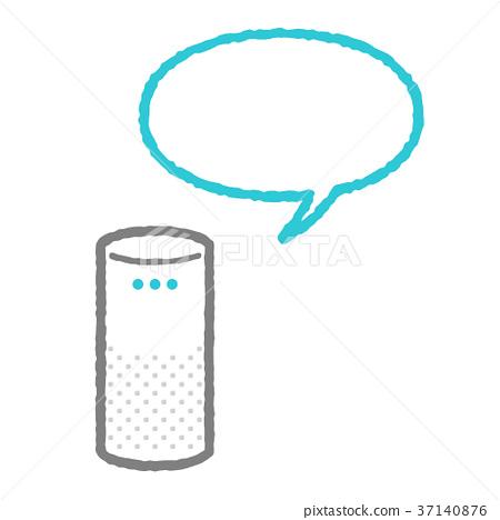 smart speaker, speaker, blowoff 37140876