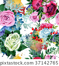 floral, watercolor, colorful 37142765
