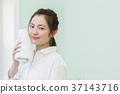 female, lady, woman 37143716