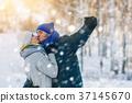 winter, snow, park 37145670